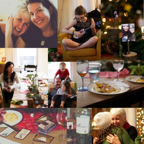 very hammond christmas collage