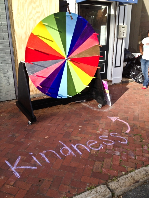 wheel of kindness
