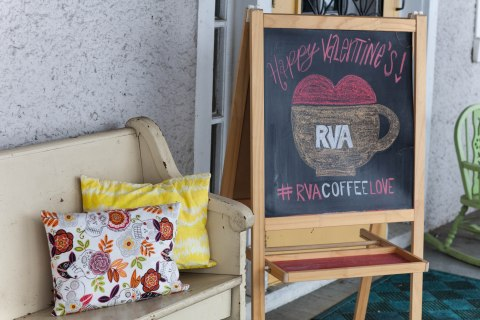 rva coffee love porch