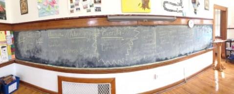 kindness class blackboard